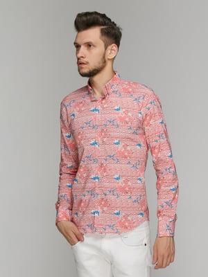 Рубашка в принт   5086441