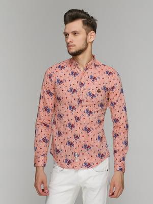Рубашка в принт | 5086385
