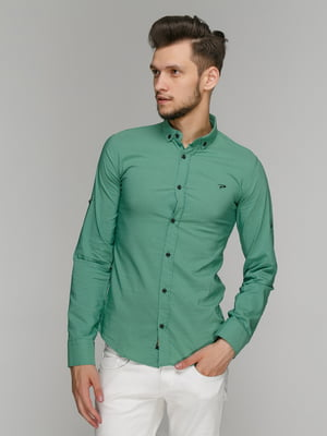 Рубашка зеленая | 5086474