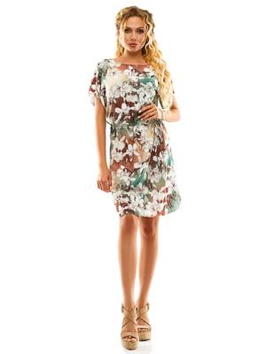 Сукня в квітковий принт | 5114006