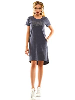 Сукня джинсового кольору | 5114011