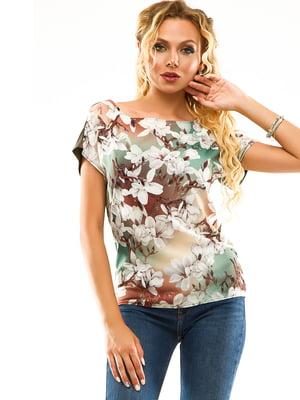 Блуза с цветочным принтом | 5114018