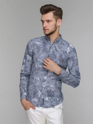 Рубашка в принт | 5086381