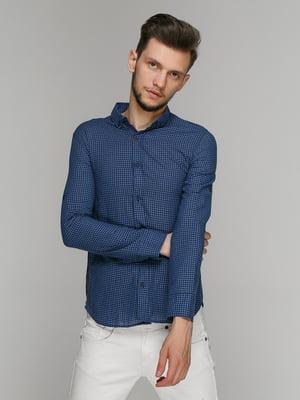 Рубашка синяя | 5086471