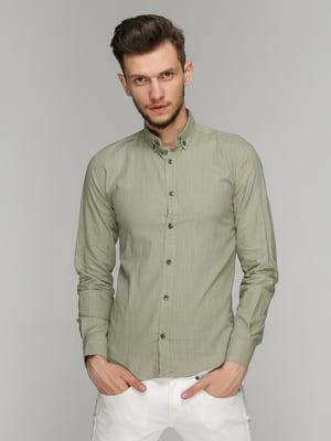 Рубашка зеленая | 5086466