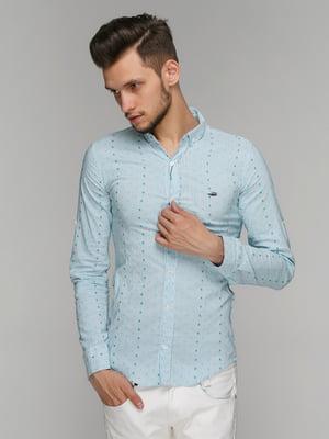 Сорочка блакитна | 5086465