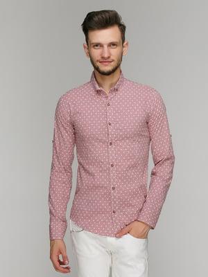 Рубашка розовая | 5086463