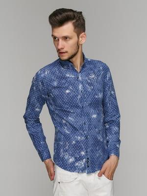Рубашка в принт | 5086379