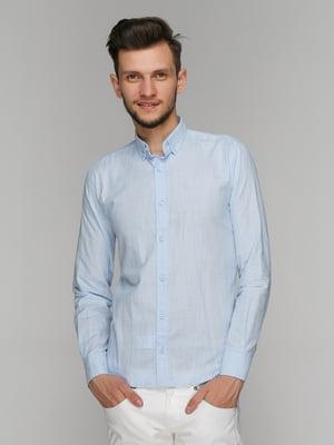 Рубашка голубая | 5086478