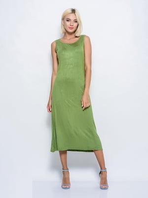 Платье зеленое | 5099972