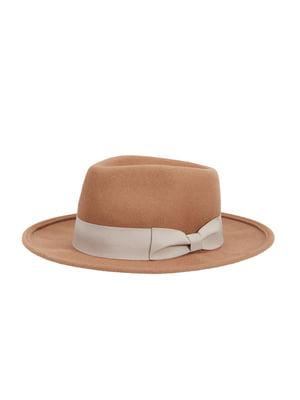 Капелюх коричневий | 4896066