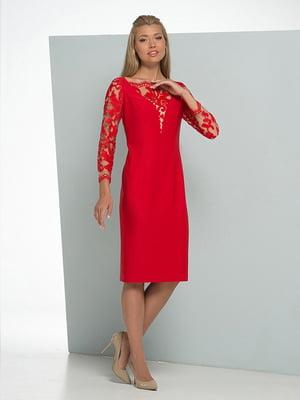 Платье красное | 5109778