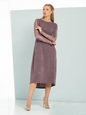 Платье сиреневое | 5109856
