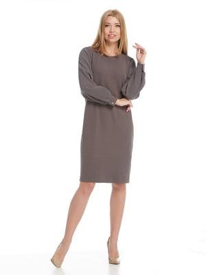 Платье серое | 5109860