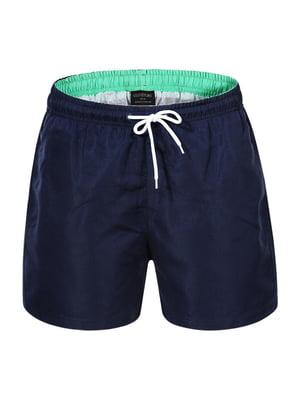 Шорты для плавания темно-синие | 5113939