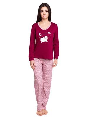 Пижама: джемпер и брюки | 4781114