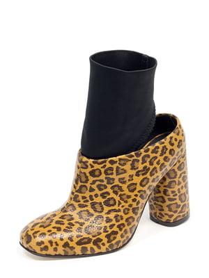 Туфли анималистичной расцветки   5111301