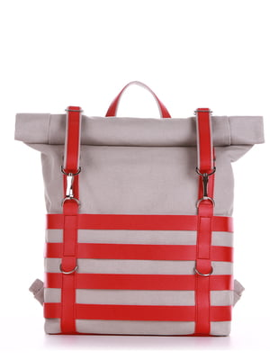 Рюкзак светло-серый - Alba Soboni - 5114982