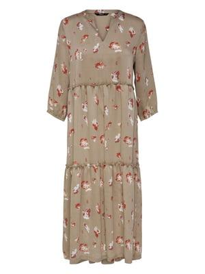 Платье в цветочный принт | 5056777