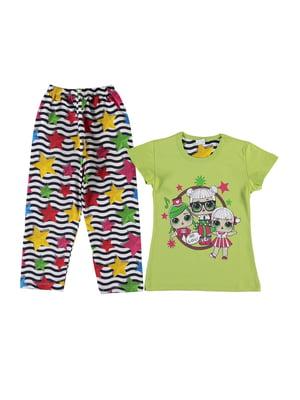 Піжама: футболка і штани | 5115278
