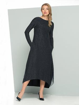 Платье темно-синее | 5109787