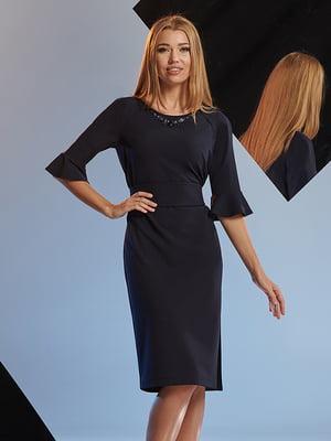 Платье темно-синее | 5109809
