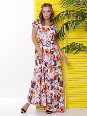 Платье в цветочный принт | 5116070