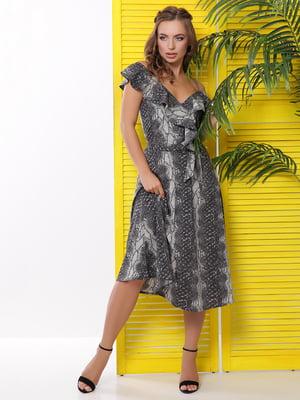 Платье в анималистическую расцветку | 5116072