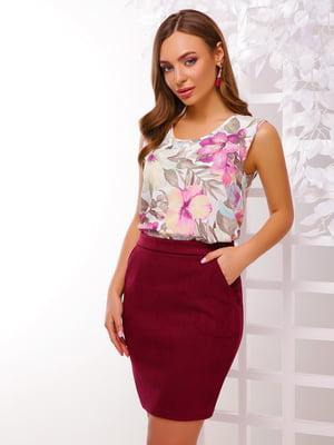 Блуза в цветочный принт | 5116079