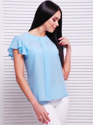 Блуза голубая | 5116085