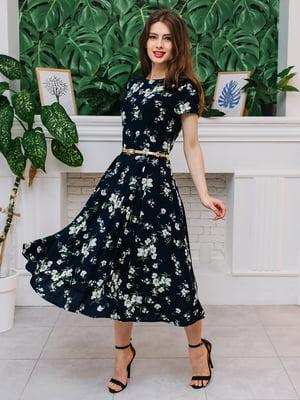 Платье в цветочный принт | 5116587