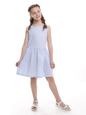 Платье голубое | 5116742