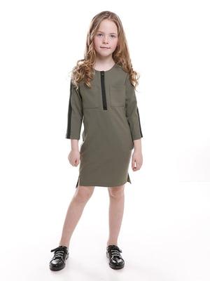 Платье цвета хаки | 5116747