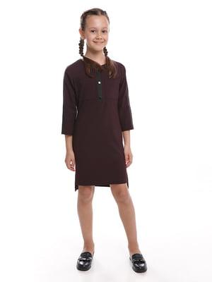 Платье бордовое | 5116748