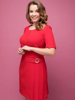 Платье красное   5117031