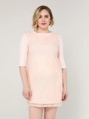 Платье пудрового цвета   5117039