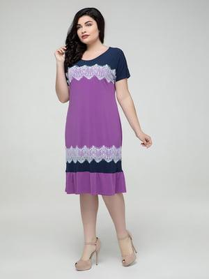 Платье фиолетовое   5117045