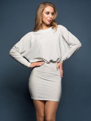 Платье серое   5117043