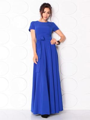 Сукня кольору електрик | 5117083