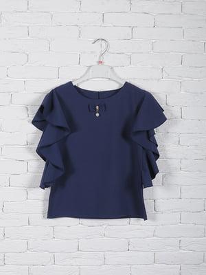 Блуза синя | 5026036