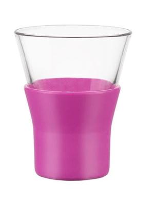Склянка для капучино з кольоровою резинкою (220 мл) | 5117247
