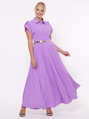 Платье сиреневое | 5117525