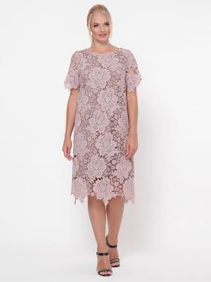 Сукня бузкова | 5117541