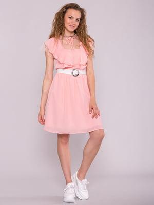 Платье розовое | 5094772