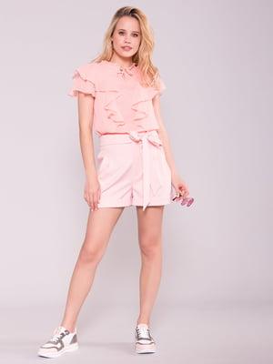 Блуза пудрового цвета   5112276