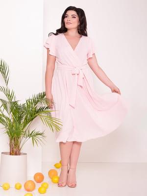 Платье розовое | 5112282