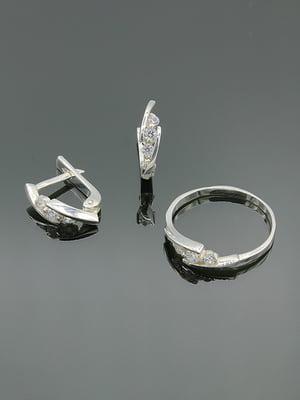 Набір: сережки і каблучка   5117861