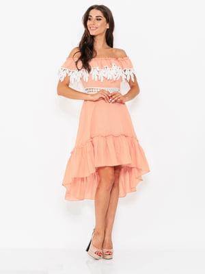 Платье розовое | 5117989
