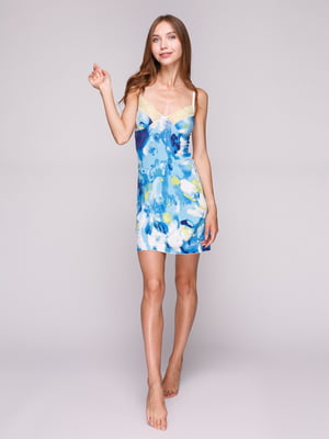 Рубашка ночная абстрактной расцветки | 5116450
