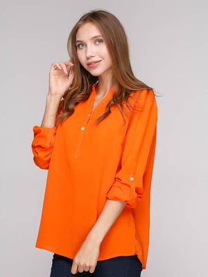 Блуза оранжевая | 5110519
